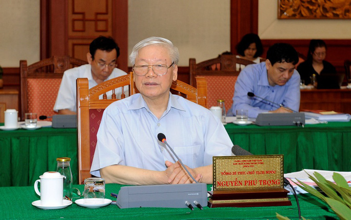 Bộ Chính trị làm việc với 10 đảng bộ trực thuộc Trung ương - Ảnh 1.