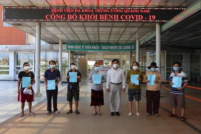 Thêm 19 bệnh nhân Covid-19 ở Quảng Nam được xuất viện - Ảnh 1.