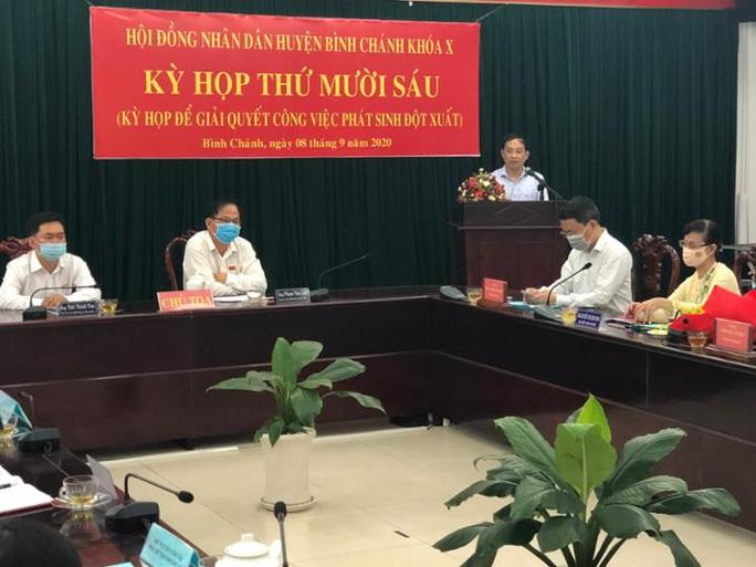Ông Đào Gia Vượng được bầu giữ chức Chủ tịch UBND huyện Bình Chánh - Ảnh 1.