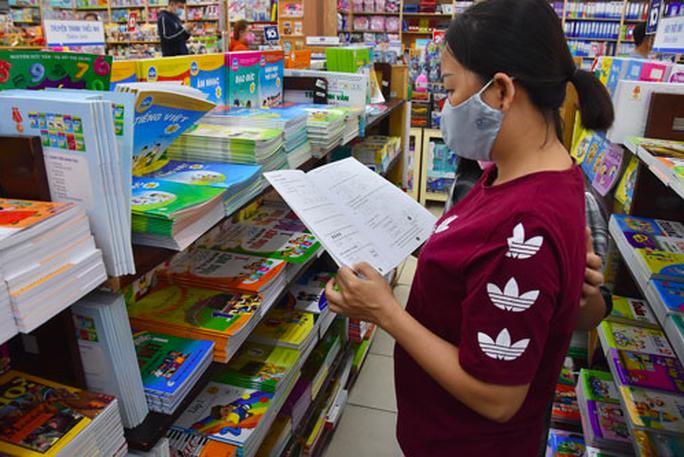 Thanh tra, kiểm tra việc mua SGK, sách tham khảo trong trường học - Ảnh 1.