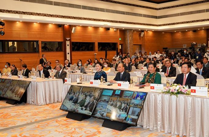 Tổng Bí thư, Chủ tịch nước Nguyễn Phú Trọng phát biểu chào mừng AIPA 41 - Ảnh 2.