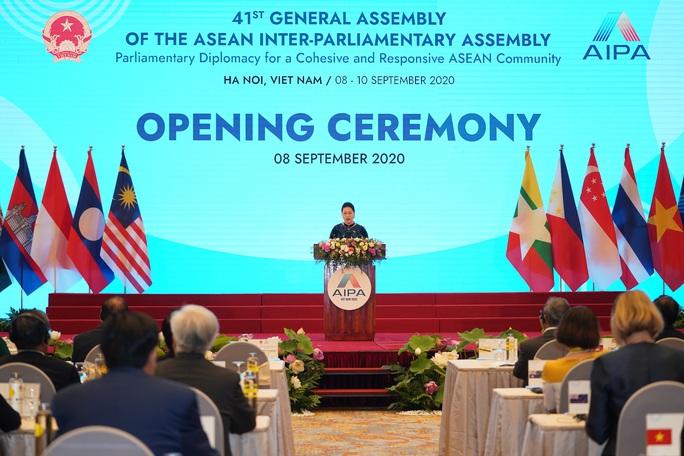 Tổng Bí thư, Chủ tịch nước Nguyễn Phú Trọng phát biểu chào mừng AIPA 41 - Ảnh 10.