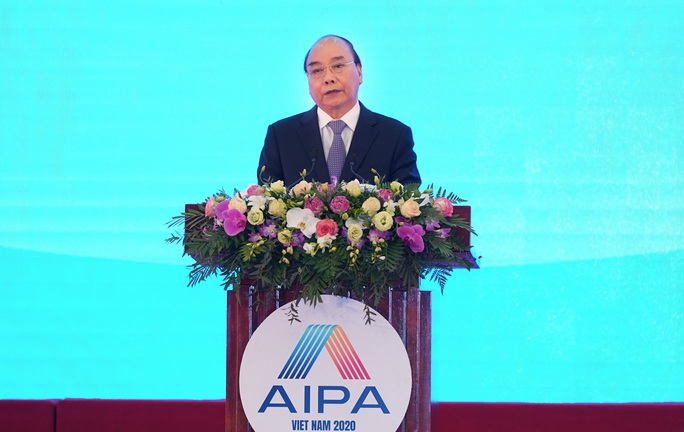 Tổng Bí thư, Chủ tịch nước Nguyễn Phú Trọng phát biểu chào mừng AIPA 41 - Ảnh 4.