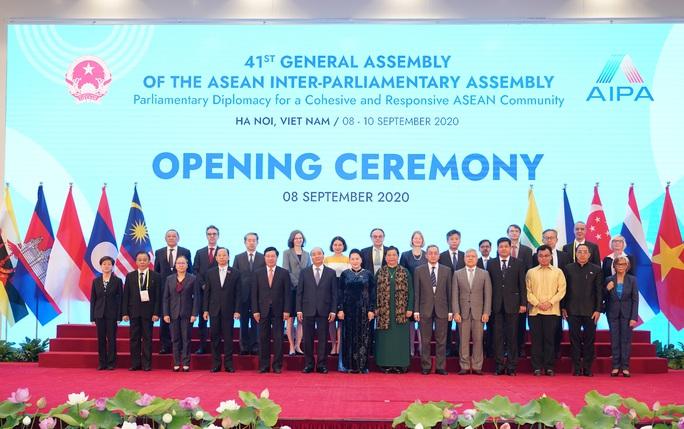 Tổng Bí thư, Chủ tịch nước Nguyễn Phú Trọng phát biểu chào mừng AIPA 41 - Ảnh 5.