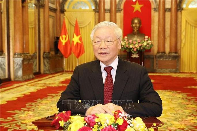 Tổng Bí thư, Chủ tịch nước Nguyễn Phú Trọng phát biểu chào mừng AIPA 41 - Ảnh 1.
