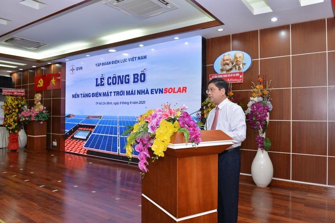 EVN công bố nền tảng hỗ trợ người lắp điện mặt trời mái nhà - Ảnh 1.