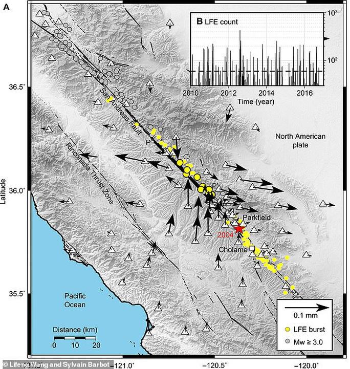 Sốc: Vỏ Trái Đất bị trượt bên dưới tiểu bang của Mỹ - Ảnh 2.