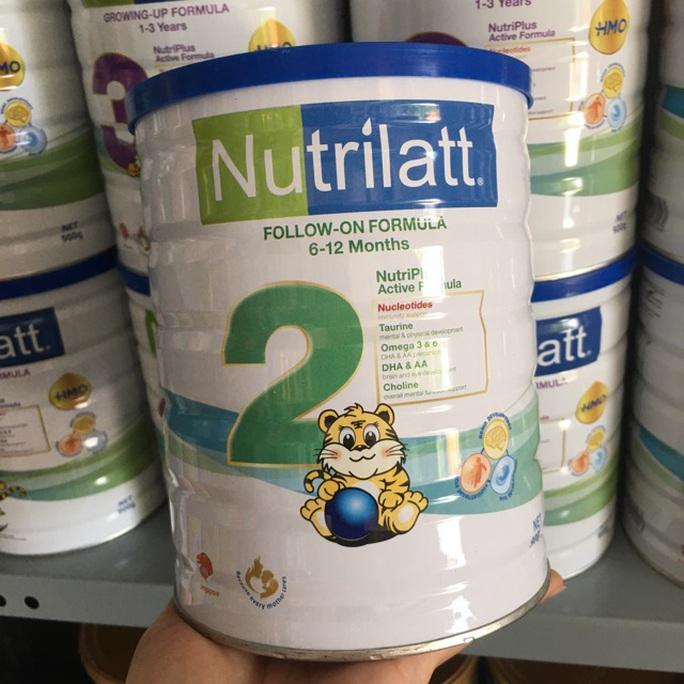 Sữa Nutrilatt 1 và 2 nhập khẩu có hàm lượng sắt và kẽm thấp hơn quy định - Ảnh 1.