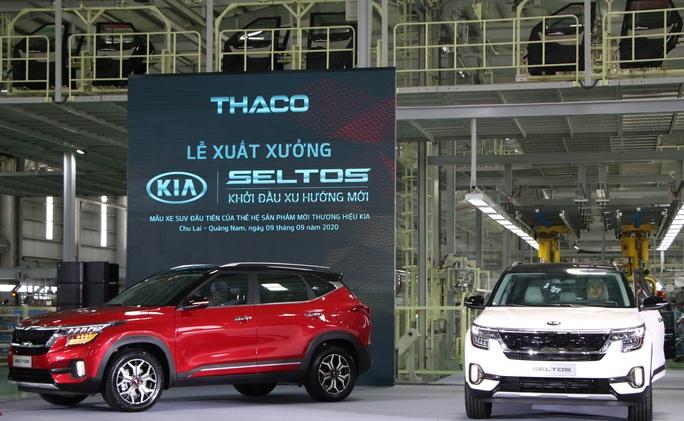 Thaco xuất xưởng xe Kia Seltos giá từ 599 đến 719 triệu đồng - Ảnh 3.