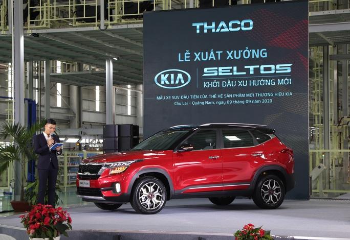Thaco xuất xưởng xe Kia Seltos giá từ 599 đến 719 triệu đồng - Ảnh 2.