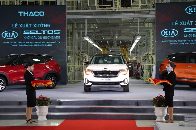 Thaco xuất xưởng xe Kia Seltos giá từ 599 đến 719 triệu đồng - Ảnh 5.