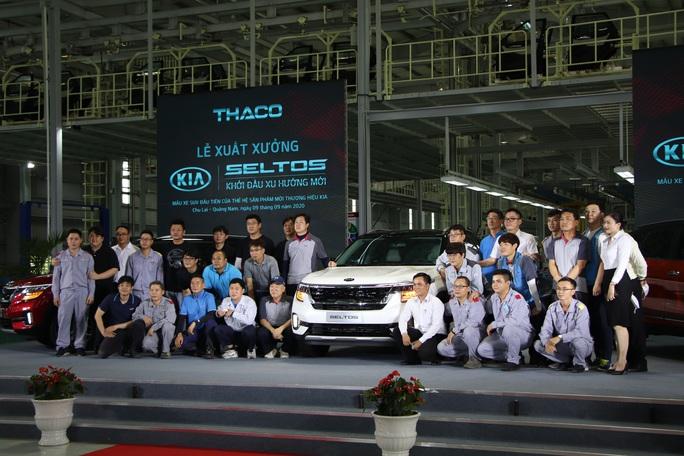 Thaco xuất xưởng xe Kia Seltos giá từ 599 đến 719 triệu đồng - Ảnh 6.