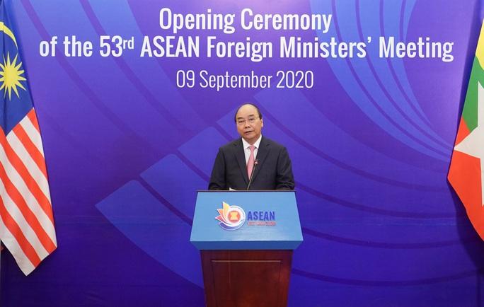 Thủ tướng: Đề cao tinh thần thượng tôn pháp luật ở Biển Đông - Ảnh 1.