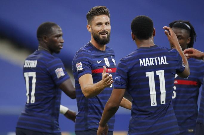 Vùi dập Croatia, Pháp tái hiện đại tiệc chung kết World Cup 2018 - Ảnh 7.