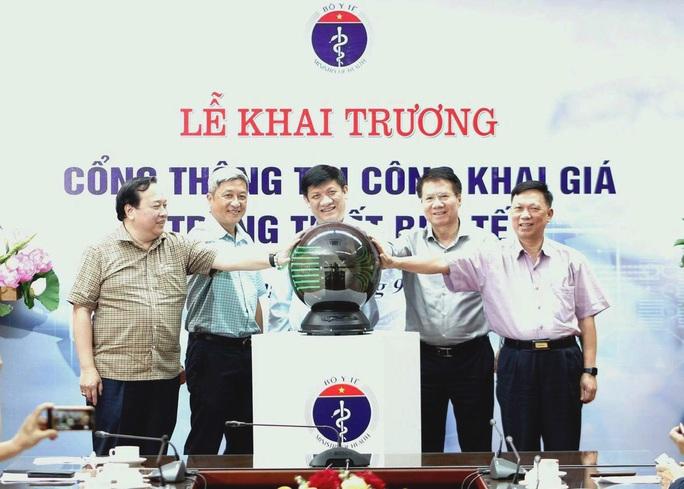 Bộ Y tế lần đầu tiên công khai giá trang thiết bị y tế - Ảnh 1.