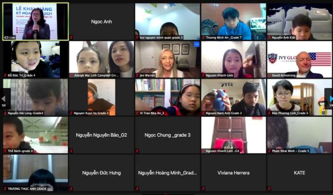 Trường phổ thông Mỹ trực tuyến Ivy Global School tổ chức lễ khai giảng đầu tiên tại Việt Nam - Ảnh 2.
