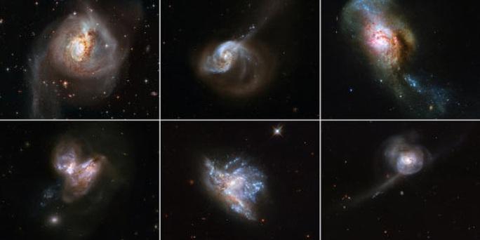 6 thiên hà đang xảy ra điều được dự báo làm văng Trái Đất - Ảnh 1.