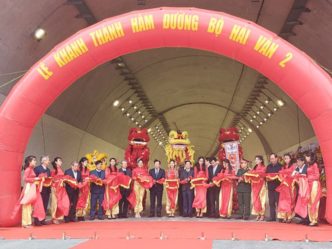 Khánh thành hầm đường bộ dài nhất Đông Nam Á - Ảnh 1.