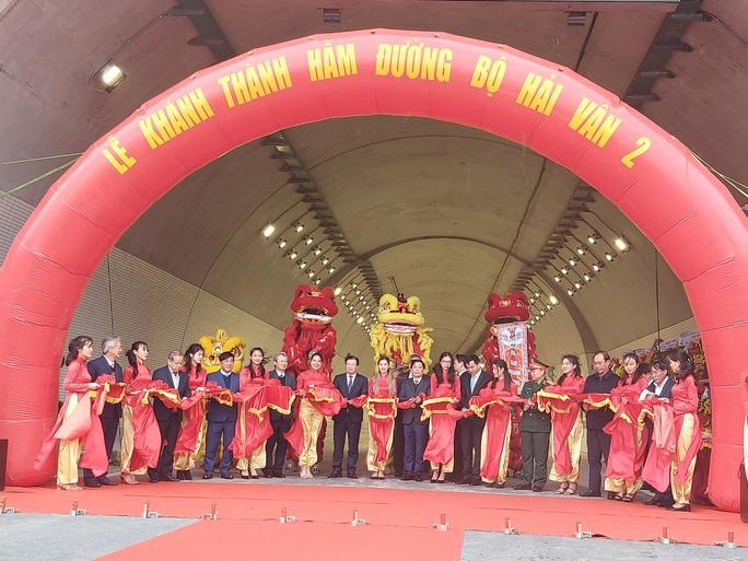 Khánh thành hầm đường bộ Hải Vân 2 dài nhất Đông Nam Á - Ảnh 1.
