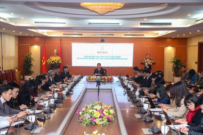 Việt Nam hoàn thành số hóa truyền hình mặt đất - Ảnh 1.
