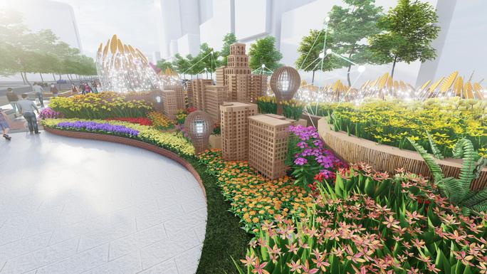 Có gì ở Đường hoa Nguyễn Huệ Tết Tân Sửu 2021? - Ảnh 8.