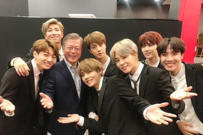 Tổng thống Hàn Quốc khen BTS, Blackpink, phim Ký sinh trùng - Ảnh 4.