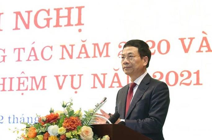 Bộ trưởng Nguyễn Mạnh Hùng: Sứ mệnh lớn lao chưa bao giờ có của ngành thông tin - truyền thông - Ảnh 2.