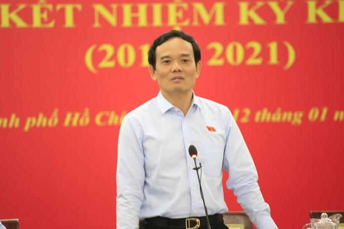 Phó Bí thư Thường trực Thành ủy TP HCM: Tôi từng thấy khớp trước Đoàn ĐBQH TP - Ảnh 1.