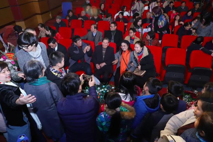 Nhạc sĩ Phạm Tuyên xúc động trong đêm nhạc mừng sinh nhật tuổi 91 - Ảnh 3.