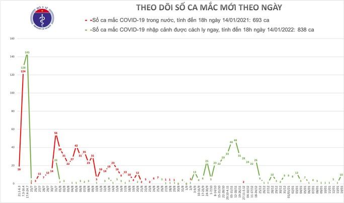 Việt Nam phát hiện thêm 10 ca mắc Covid-19 - Ảnh 1.