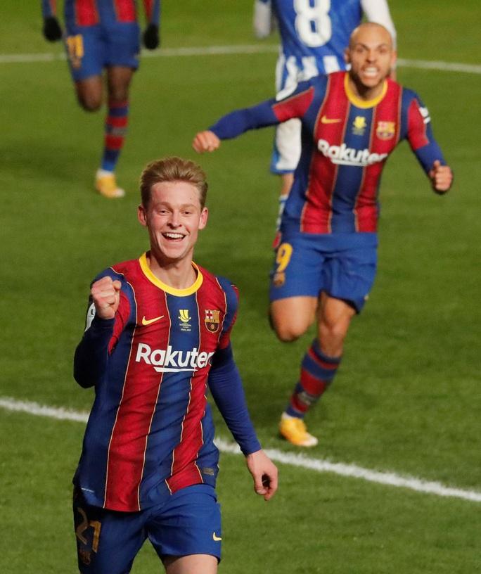 Thắng luân lưu nghẹt thở, Barcelona vào chung kết Siêu cúp Tây Ban Nha - Ảnh 4.