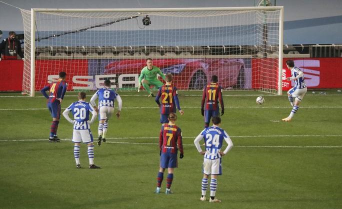 Thắng luân lưu nghẹt thở, Barcelona vào chung kết Siêu cúp Tây Ban Nha - Ảnh 5.