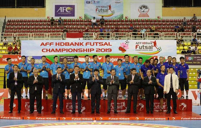 Futsal Việt Nam quyết giành HCV SEA Games 31 - Ảnh 1.