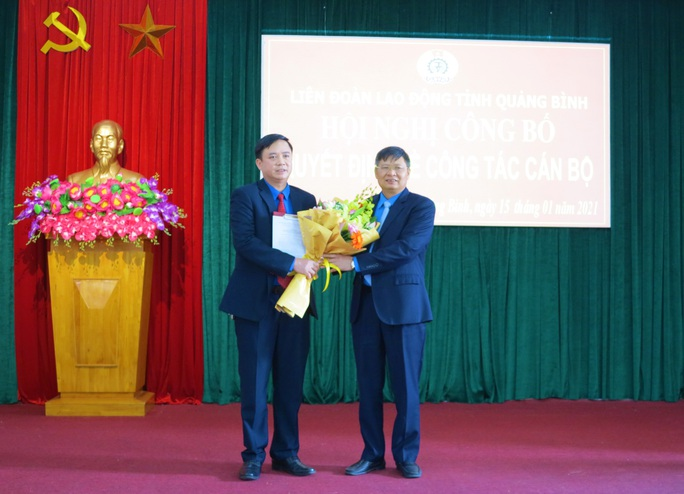 Ông Phạm Tiến Nam giữ chức Chủ tịch LĐLĐ tỉnh Quảng Bình - Ảnh 1.