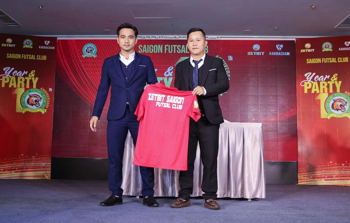 Zetbit Sài Gòn FC đặt mục tiêu top 3 giải futsal VĐQG - Ảnh 1.