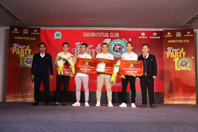 Zetbit Sài Gòn FC đặt mục tiêu top 3 giải futsal VĐQG - Ảnh 2.