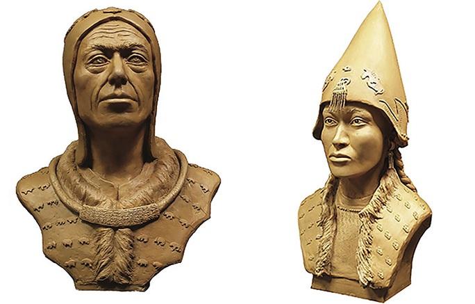 Kinh ngạc đôi nam nữ trở về từ mộ cổ đầy vàng 2.600 năm - Ảnh 1.