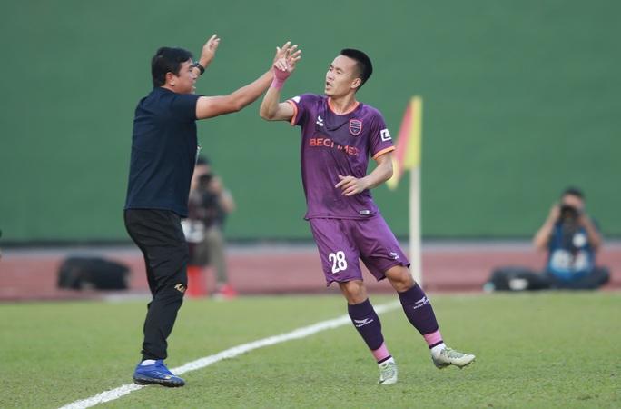 V-League 2021: Tân binh Topenland Bình Định bị cầm hòa đáng tiếc - Ảnh 3.