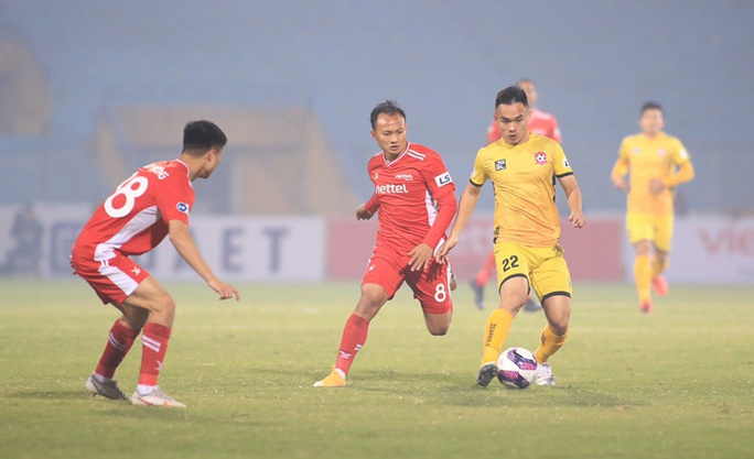 Đương kim vô địch Viettel thua sốc ở vòng 1 V-League 2021 - Ảnh 3.