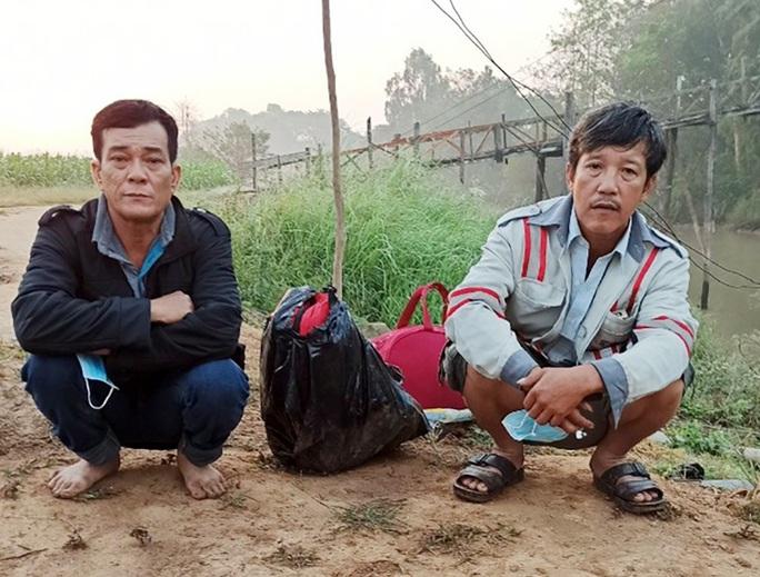 Sợ bị cách ly, 2 người đàn ông lén nhập cảnh trái phép về quê ăn Tết - Ảnh 1.