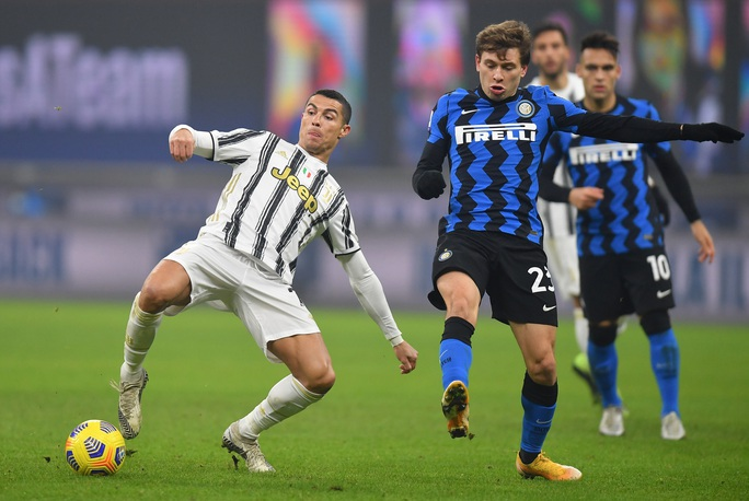 Ronaldo bất lực trong trận thua chủ nhà Inter Milan - Ảnh 1.