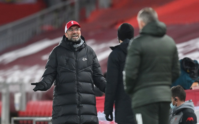 Man United cầm chân Liverpool, HLV Klopp tiếc ngôi đầu - Ảnh 1.