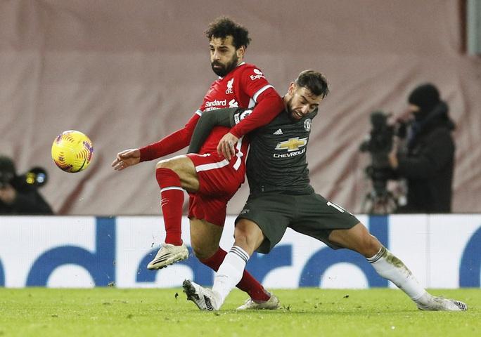 Man United cầm chân Liverpool, HLV Klopp tiếc ngôi đầu - Ảnh 3.