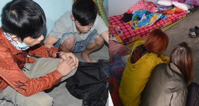 Triệt phá đường dây ma túy liên tỉnh từ Thái Bình về Quảng Ngãi - Ảnh 2.