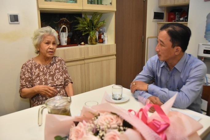 Mai Vàng nhân ái thăm NSƯT Ca Lê Hồng sau ca phẫu thuật viêm túi mật - Ảnh 3.