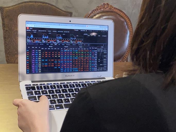 Chứng khoán bị bán tháo, VN-Index giảm sâu, thanh khoản đạt kỷ lục. - Ảnh 1.