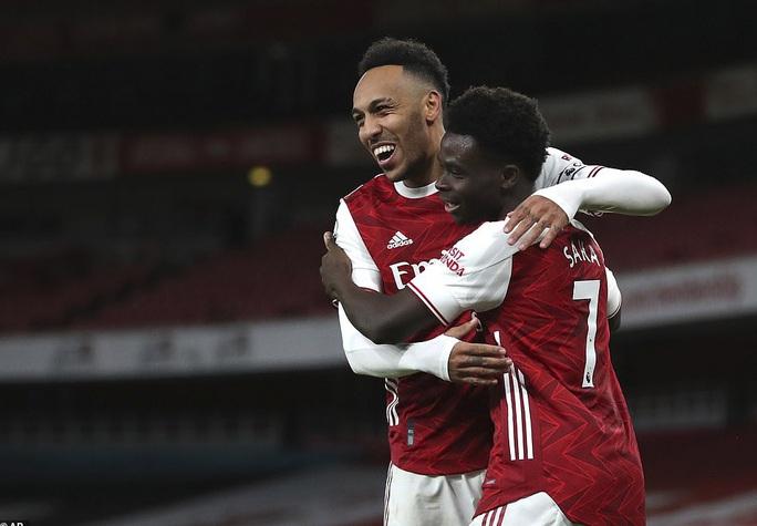 Hung thần Aubameyang bùng nổ, Arsenal thắng giòn giã Newcastle - Ảnh 6.