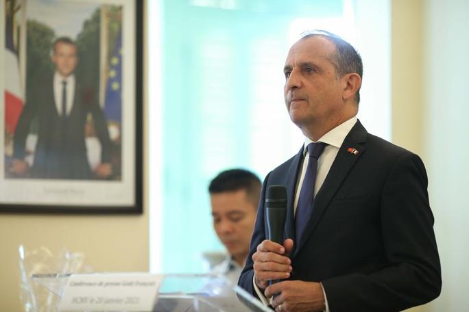 """Tổng lãnh sự quán Pháp tại TP HCM ra mắt chứng nhận Goût Français"""" - Ảnh 1."""