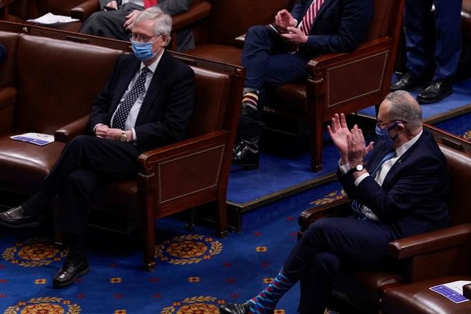 Phiên xử luận tội: Lãnh đạo phe đa số Thượng viện quay lưng với ông Trump - Ảnh 1.