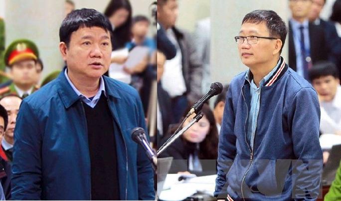 Ông Đinh La Thăng và Trịnh Xuân Thanh cùng hầu toà trong vụ án Ethanol Phú Thọ - Ảnh 1.